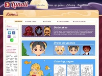 Lunaii -  Dollmaker and dress up games
