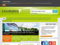 lincolnshire.gov.uk Thumbnail