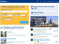booking.com Webiste Thumbnail