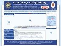 K.L.N. College of Engineering ::: KLNCE
