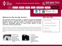 City-security-services.co.uk