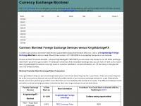 currencyexchangemontreal.ca Thumbnail