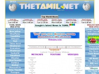 .:.WELCOME.:.thetamil.net, The library style web with search free of art for useful links and more.