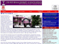 WBUHS - THE WEST BENGAL UNIVERSITY OF HEALTH SCIENCES