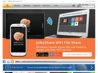 JoikuSpot WiFi HotSpot, Joiku WiFi File Share Android app, Joiku Speed Test Android app and Joiku Speed Map. For Android, Samsung, Nokia Symbian S60 Anna Belle mobile phones - Android S3, S4, Nokia N8, E7, E5, 500, C6, 808 Pureview, E72, E71, C7, 580 ..