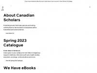 canadianscholars.ca Thumbnail