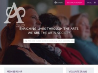 Theartssociety.org