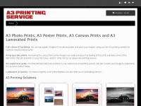 a3printingservice.co.uk