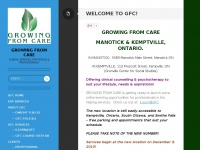GROWING FROM CARE | Clinical services for people & professionals!