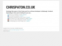 Chrispaton.co.uk