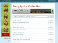 Song Lyrics Collection | Lyrics.My