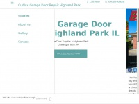 cudlux-garage-door-repair-highland-park.business.site Thumbnail