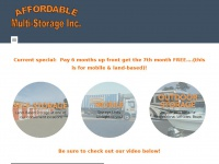 affordablemultistorage.com