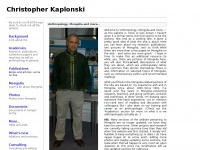 Anthropology, Mongolia and more...