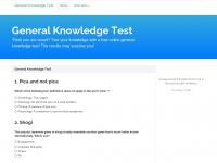 generalknowledgetest.net Thumbnail