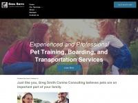 gregsmithcanineconsulting.net