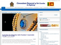 Consulate General Of The Democratic Socialist Republic Of Sri Lanka | Consulate General Of  The Democratic Socialist Republic Of Sri Lanka