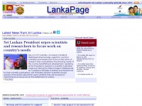 LankaPage - News on Sri Lanka, around the clock news update