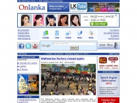 ONLANKA NEWS ::. Latest SRI LANKA NEWS ALERT on Web - Chat - Friends