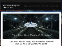 bestmiamipartybus.com