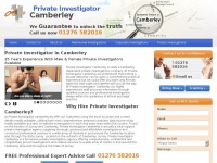 private-investigator-camberley.co.uk Thumbnail