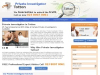 Private-investigator-totton.co.uk