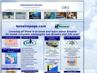 Bonairepage.com : Bonaire's  Web Site  : Covering all there is  to know and learn about Bonaire, Netherlands Antilles. Get the latest  information.