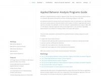 appliedbehavioranalysisprograms.com