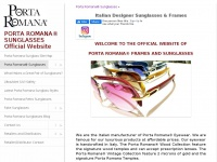 portaromanasunglasses.com