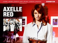 Axelle Red - Site Officiel