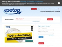 Ezetop.com - Send Mobile Top Up Recharge Online & Make Cheap Calls with ezetop