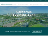californiabusinessbank.com