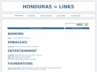 Honduras Links - Honduras Related Websites