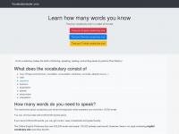 vocabularytester.com
