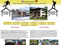 Chalet Heidi,Scheffau,Summer Holidays,Skiing,Walking,Biking,Boarding,Chalet