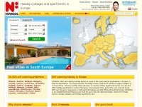 Self catering holiday in Croatia, France, Spain and 24 other countries
