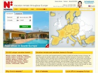 Holiday rentals in Croatia, France, Spain and 23 other countries