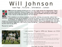 Will Johnson - Leicester Tigers, Coventry, Benetton Treviso, Rugby Nice Cote d'Azur