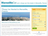 Marseille Car Rental and Cheap Car Hire in Marseille, France | MarseilleCar.com