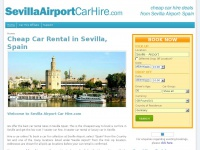 Sevilla Car Hire, Cheap Car Rental Sevilla Airport | SevillaAirportCarHire.com