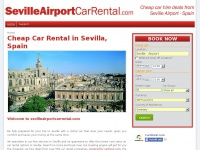 Seville Car Hire, Cheap Car Rental Seville Airport | SevilleAirportCarRental.com