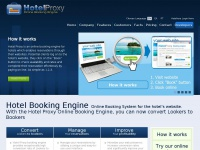 Hotel Booking Engine for the Website. A powerful Hotel Booking System and Channel Manager