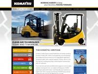 komatsuforklift.com