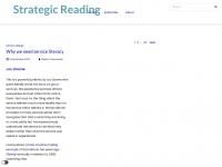 Strategicreading.uk