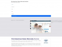 first-american-home-warranty.com