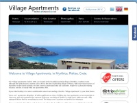 Welcome to Village Apartments in Plakias, Rethymnon, Crete | Accommodation in Plakias | Crete Accommodation