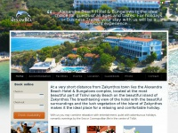 Alexandra Beach Hotel in Tsilivi Zante Zakynthos Greece