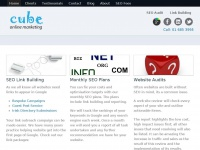 cubeonlinemarketing.ie Thumbnail