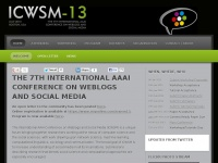 Icwsm.org