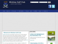 Wicklow Golf Club | Golf Club Dublin | Golf Deals | Golf Society | Golf in Wicklow
